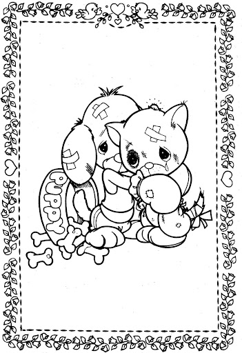 forgiveness – precious moments coloring pages