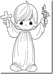 Baptism ideas coloring pages