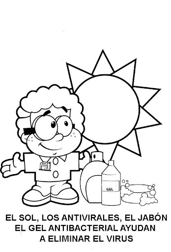 h1n1 flu coloring pages - photo #12