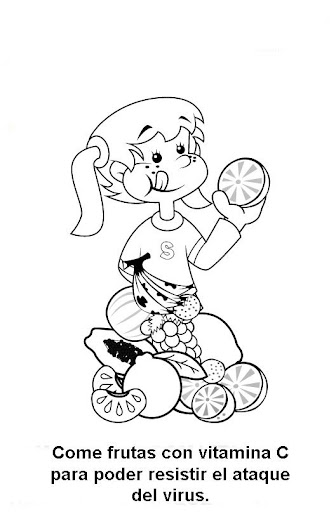 h1n1 flu coloring pages - photo #8