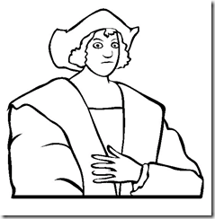 Columbus day – coloring pages