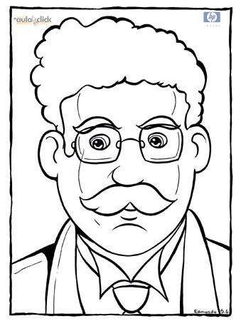 Plutarco Elias Calles and Ricardo Flores Magón coloring pages