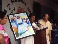 Mojeños recordando al Pedro Muiba - Foto CIPCA
