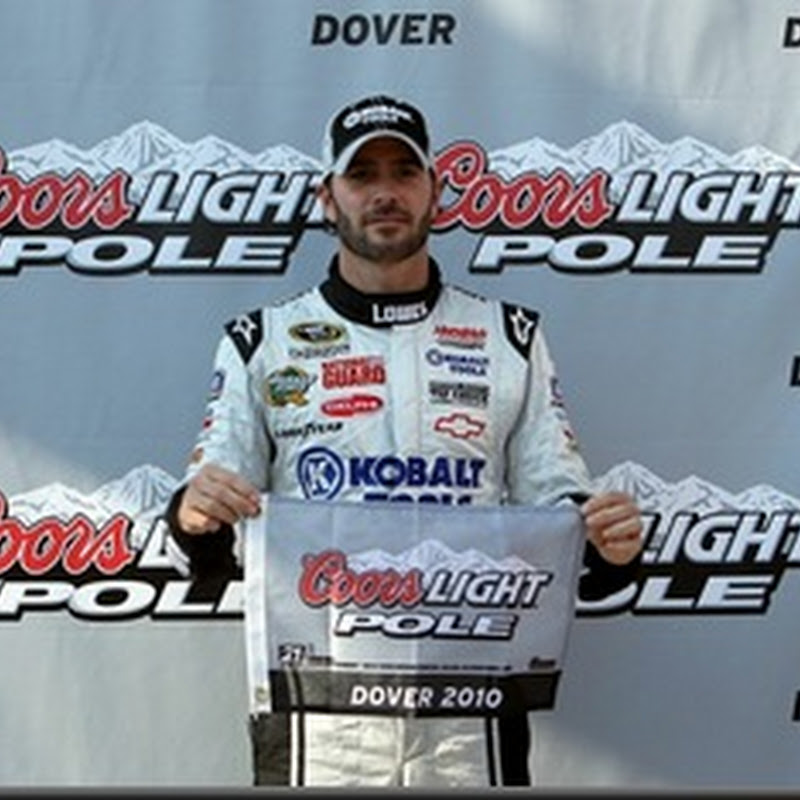 Pole Report:  Jimmie Johnson Leads Field for AAA 400