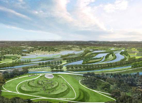 Hargreaves Associates - Shelby Farms Park