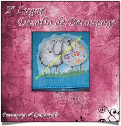 Desaffio Decoupage-Dia dos Namorados