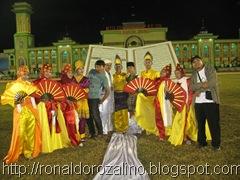 Penari Tari Massal Titian Illahi di Pembukaan MTQ ke XXIX di Kuansing 4