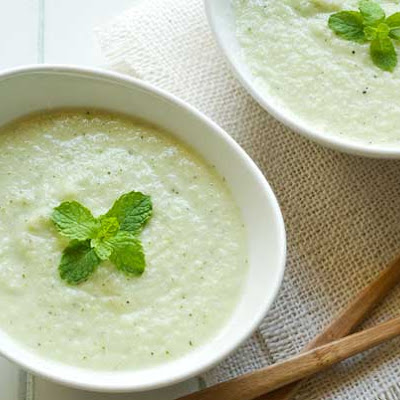 Gluten Free Cold Cucumber Soup