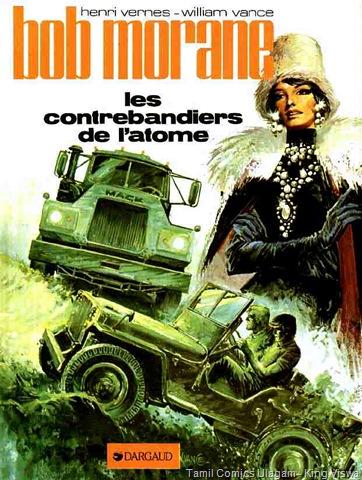 Bob Morane - Les contrebandiers de l'atome 01 Reference Muthu 199 Cover