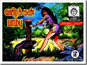 Rani Comics Issue No 140 Vayirakkan Paambu MB