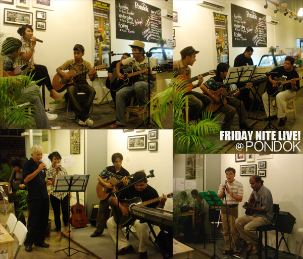pondok cafe friday nite live singing pondok idol musical talent show