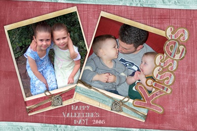 VDay Card Kisses