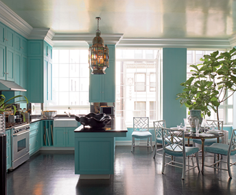 Turquoise Aquamarine Metropolitan Home