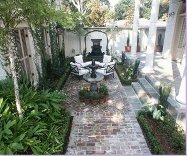 Garden Courtyard Pathway