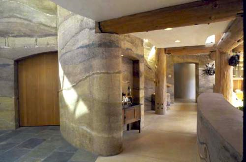 Patricia gray interior design blog rammed earth walls for A d interior decoration contractor