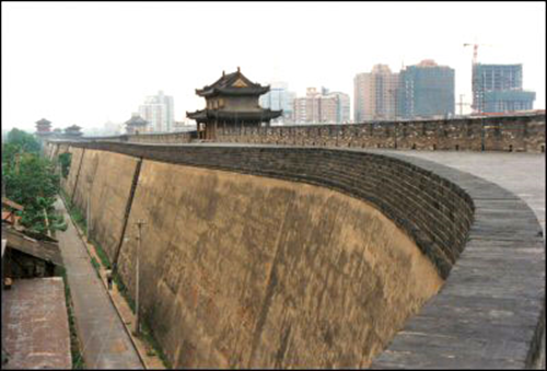 Rammed Earth Walls - Great Wall of China