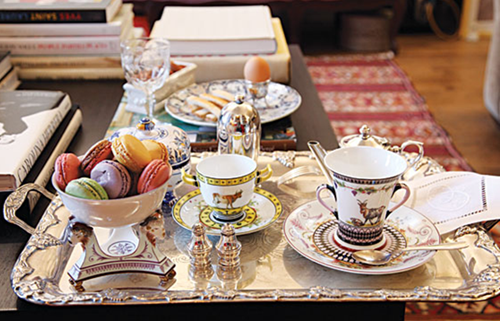 Hervé Pierre, Sevres Porcelain / Laduree Macaroons