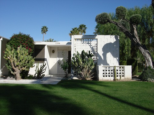 Mid Century Modern Real Estate Palm Springs 