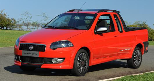 Nova Fiat Strada Sport