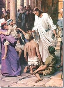 Jesus y Bartimeo