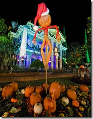 "HALLOWEEN TIME: From Sept. 17 through Oct. 31, families will celebrate Halloween Time at the Disneyland Resort as they interact with some of Disney's most beloved characters decked out in seasonal costumes. Some of Disney's more sinister characters – the Disney villains – also get into the ""spirit"" of the celebration at Disneyland and Disney California Adventure parks. Guests will also enjoy Haunted Mansion Holiday and a scary adventure at Space Mountain Ghost Galaxy. Mickey's Halloween Party, a special ticketed event, will run for 10 nights including October 31. (Paul Hiffmeyer/Disneyland)"