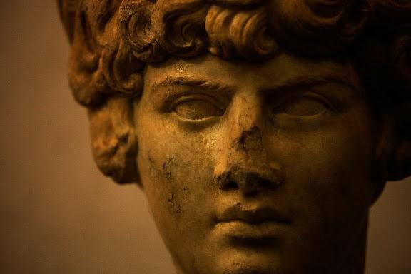 Escultura romana. Antinus.Museo Palazzo Massimo alle TermeRoma, Italia