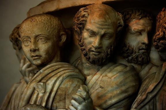Escultura romana.Museo Palazzo Massimo alle TermeRoma, Italia