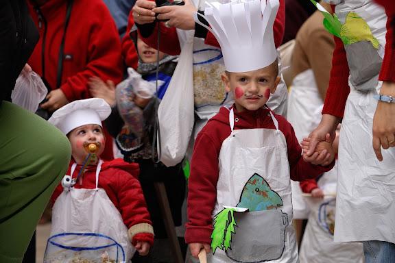Carnaval de Tarragona, Divendres (24.02.2006)  El Carnaval dels Petits.