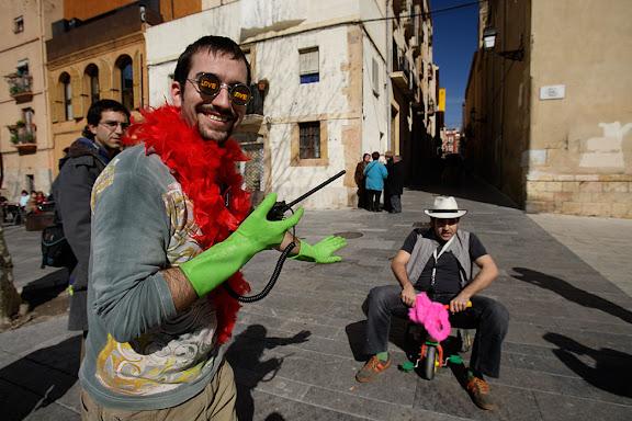 """Carnaval de Tarragona, Dissabte (25.02.2006)Cursa de carretons carrossa """"la Baixada del Pajaritu"""""""