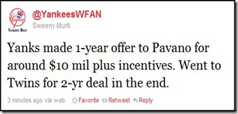 pavano offer