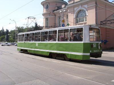 イルクーツクのトラム
