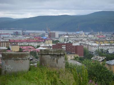 丘から見た街の風景