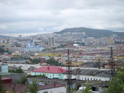 丘の上から見た街