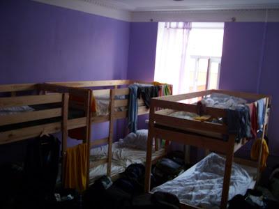ゲストハウスの12人部屋