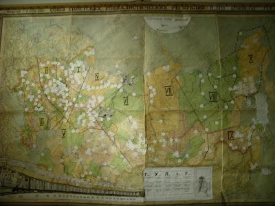 強制収容所地図