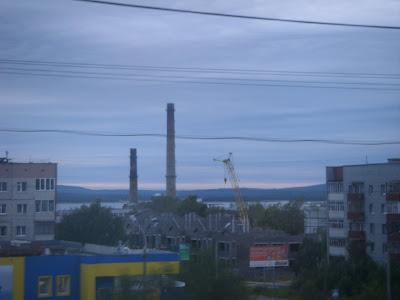 工場の煙突