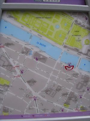 ベリブのステーションマップ