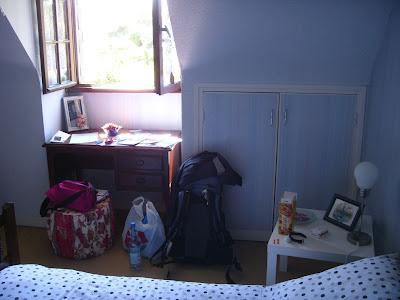 ル・コンキのB&Bの部屋