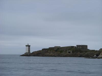 ル・コンキの岬と灯台