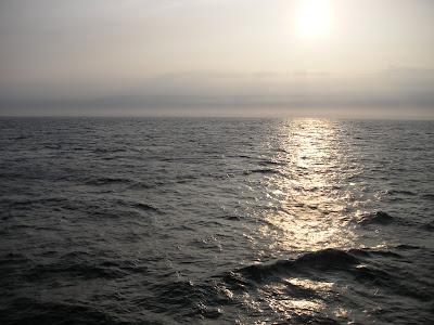 タタール海峡の夕日