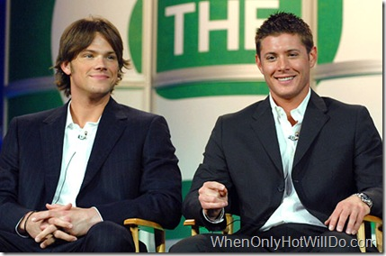 "Jared Padalecki and Jensen Ackles of ""Supernatural"""