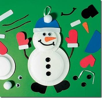 boneco d neve d prato