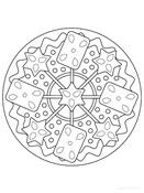 Fiestas . mandalas navidad (14)