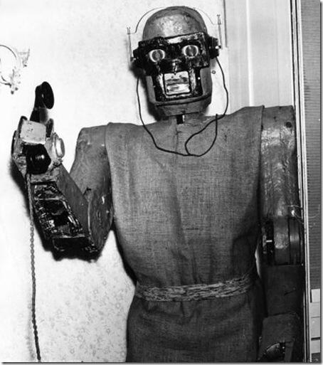 teléfono contestador-robot