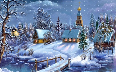 christmas-town-wallpaper