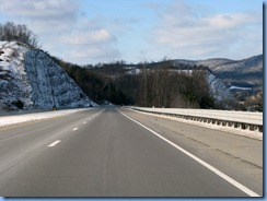 8308 View from US 15 N between Williamsport PA & NY State Line