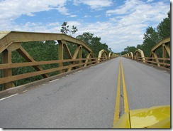 55 Rte 66 .75 mile long PONY BRIDGE btwn Bridgeport & Calumet OK