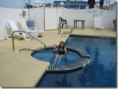5268 Hot Tub and Pool Ramada Inn South Padre Island Texas