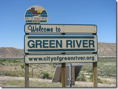 1535 Welcome to Green River WY