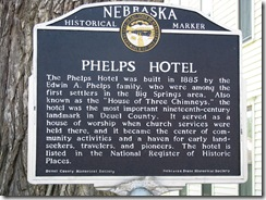 1012 Phelps Hotel Big Springs NE
